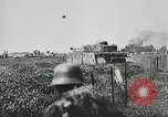 Image of German forces battle invading Allied forces Normandy France, 1944, second 9 stock footage video 65675059374