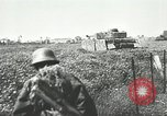 Image of German forces battle invading Allied forces Normandy France, 1944, second 10 stock footage video 65675059374