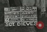 Image of Allied jeep Anzio Italy, 1944, second 1 stock footage video 65675059385