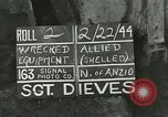 Image of Allied jeep Anzio Italy, 1944, second 2 stock footage video 65675059385