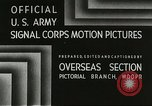 Image of American troops Anzio Italy, 1944, second 2 stock footage video 65675059406