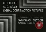 Image of American troops Anzio Italy, 1944, second 3 stock footage video 65675059406