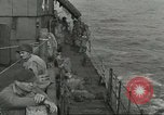 Image of Allied paratroopers Mediterranean Sea, 1944, second 3 stock footage video 65675059416