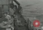 Image of Allied paratroopers Mediterranean Sea, 1944, second 4 stock footage video 65675059416