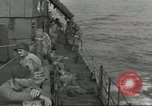 Image of Allied paratroopers Mediterranean Sea, 1944, second 6 stock footage video 65675059416