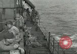 Image of Allied paratroopers Mediterranean Sea, 1944, second 12 stock footage video 65675059416