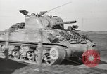Image of M4 tanks Anzio Italy, 1944, second 5 stock footage video 65675059419