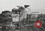 Image of M4 tanks Anzio Italy, 1944, second 8 stock footage video 65675059419
