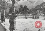 Image of 104th Regiment, 103rd Division Austria, 1945, second 8 stock footage video 65675059431