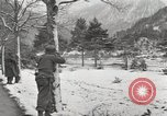 Image of 104th Regiment, 103rd Division Austria, 1945, second 10 stock footage video 65675059431