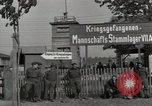 Image of German POW camp Stalag VII-A Moosburg Bavaria, 1945, second 11 stock footage video 65675059434