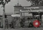 Image of German POW camp Stalag VII-A Moosburg Bavaria, 1945, second 12 stock footage video 65675059434