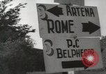 Image of Allied troops Rome Italy, 1944, second 6 stock footage video 65675059438