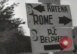 Image of Allied troops Rome Italy, 1944, second 8 stock footage video 65675059438