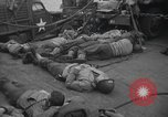 Image of American soldiers English Channel, 1944, second 7 stock footage video 65675059459