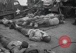 Image of American soldiers English Channel, 1944, second 10 stock footage video 65675059459