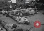 Image of American soldiers English Channel, 1944, second 12 stock footage video 65675059459