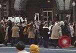 Image of Anti-war demonstrators and GE employees against Vietnam War Washington DC USA, 1969, second 8 stock footage video 65675059473