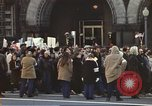 Image of Anti-war demonstrators and GE employees against Vietnam War Washington DC USA, 1969, second 9 stock footage video 65675059473