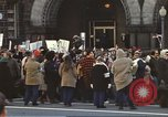 Image of Anti-war demonstrators and GE employees against Vietnam War Washington DC USA, 1969, second 10 stock footage video 65675059473