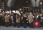 Image of Anti-war demonstrators and GE employees against Vietnam War Washington DC USA, 1969, second 11 stock footage video 65675059473