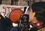 Image of Peace activists and GE against Vietnam War Washington DC USA, 1969, second 12 stock footage video 65675059474