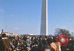 Image of Anti-war march Washington DC USA, 1969, second 8 stock footage video 65675059477