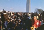 Image of Anti-war march Washington DC USA, 1969, second 10 stock footage video 65675059477