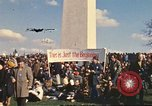 Image of Peace activists in DC protest Vietnam War Washington DC USA, 1969, second 10 stock footage video 65675059479