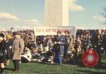 Image of Peace activists in DC protest Vietnam War Washington DC USA, 1969, second 11 stock footage video 65675059479