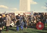 Image of Peace activists in DC protest Vietnam War Washington DC USA, 1969, second 12 stock footage video 65675059479