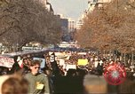 Image of Peace activists at Washington Monument against Vietnam War Washington DC USA, 1969, second 5 stock footage video 65675059480