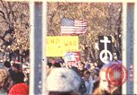 Image of Vietnam War protest march Washington DC USA, 1969, second 1 stock footage video 65675059481