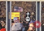 Image of Vietnam War protest march Washington DC USA, 1969, second 2 stock footage video 65675059481