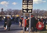 Image of Vietnam War protest march Washington DC USA, 1969, second 12 stock footage video 65675059481