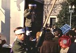 Image of Peace marchers protest Vietnam War Washington DC USA, 1969, second 3 stock footage video 65675059482