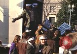 Image of Peace marchers protest Vietnam War Washington DC USA, 1969, second 6 stock footage video 65675059482