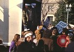 Image of Peace marchers protest Vietnam War Washington DC USA, 1969, second 7 stock footage video 65675059482