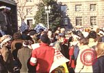 Image of Peace marchers protest Vietnam War Washington DC USA, 1969, second 8 stock footage video 65675059482