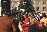 Image of Peace marchers protest Vietnam War Washington DC USA, 1969, second 10 stock footage video 65675059482