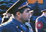 Image of armor parade Moscow Russia Soviet Union, 1974, second 8 stock footage video 65675059489