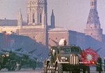 Image of armor parade Moscow Russia Soviet Union, 1974, second 4 stock footage video 65675059491