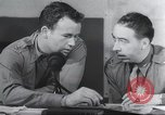 Image of Post mission debriefing United Kingdom, 1942, second 11 stock footage video 65675059497