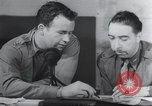 Image of Post mission debriefing United Kingdom, 1942, second 12 stock footage video 65675059497