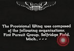 Image of 1st Provisional Wing San Diego California USA, 1930, second 8 stock footage video 65675059529