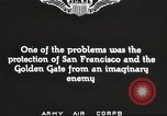 Image of A-3 aircraft San Francisco California USA, 1930, second 7 stock footage video 65675059539