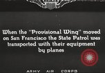 Image of A-3 aircraft San Francisco California USA, 1930, second 1 stock footage video 65675059540