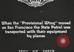 Image of A-3 aircraft San Francisco California USA, 1930, second 3 stock footage video 65675059540