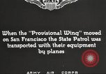 Image of A-3 aircraft San Francisco California USA, 1930, second 5 stock footage video 65675059540