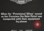 Image of A-3 aircraft San Francisco California USA, 1930, second 6 stock footage video 65675059540
